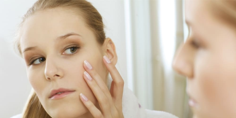 healing acne scars with collagen promotion