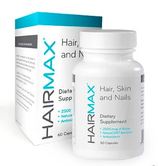 Hairmax hair loss growth supplements