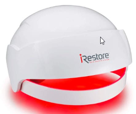 iRestore helmet hair regrowth stop hair loss