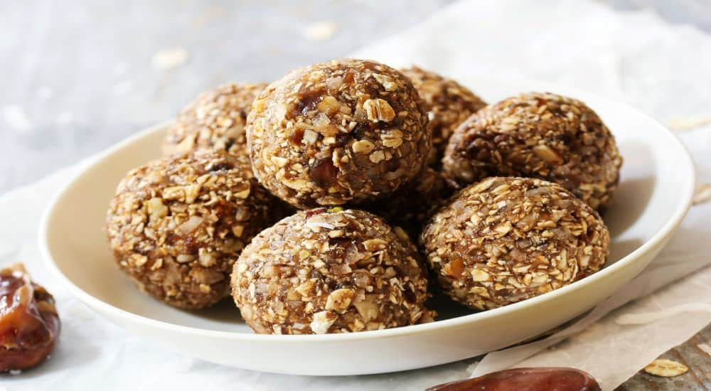 CBD and collagen infused energy balls