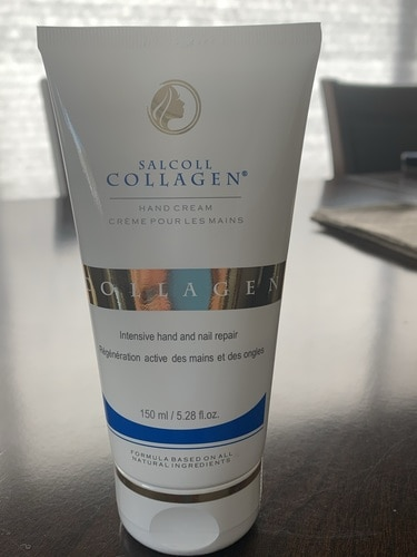 salcoll collagen anti aging hand cream review