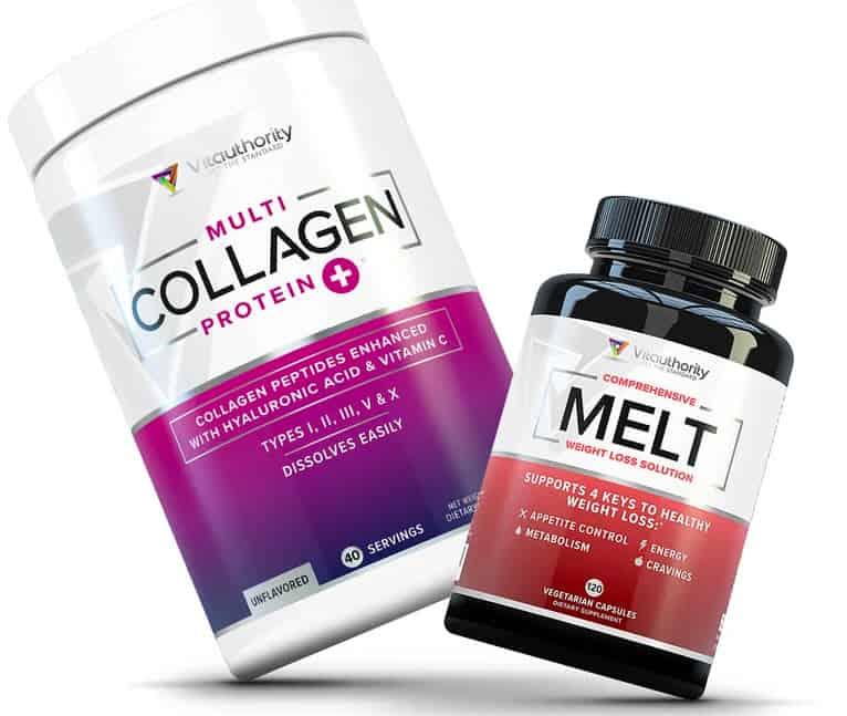 Vitauthority weight loss collagen bundle